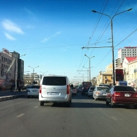 To You, the Driver: Crossing a Road in Ulaanbaatar